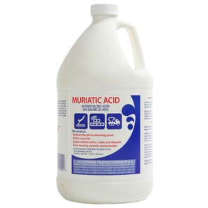 Muriatic acid swimming pool ph reducer, or decreaser