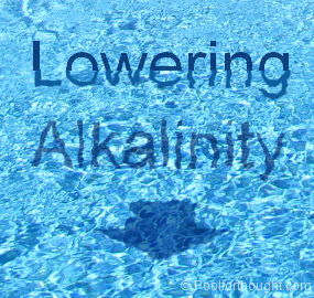 How to decrease total alkalinity in your swimming pool