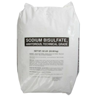 Sodium bisulfate dry acid swimming pool alkalinity reducer
