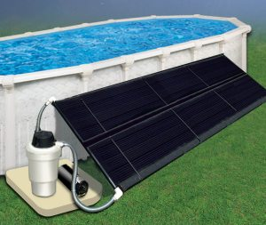 solar power swimming pool heater